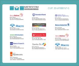 Banco - Microcom