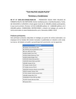 """""""TUS PALITOS VALEN PLATA"""" Términos y Condiciones"""