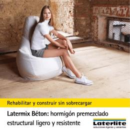 Latermix Béton: hormigón premezclado estructural ligero