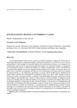 02 ENCEFALOPATIA.indd - Revistas Científicas de la Universidad