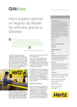 Hertz España optimiza su negocio de alquiler de vehículos