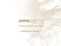 Descargar catálogo de aromas