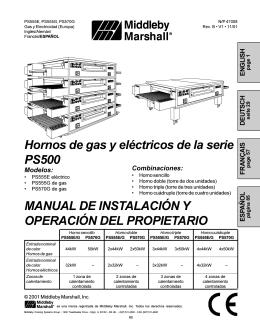 MANUAL DE INSTALACIÓN Y OPERACIÓN DEL PROPIETARIO