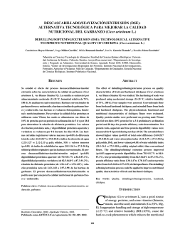 DESCASCARILLADO/SUAVIZACIÓN/EXTRUSIÓN (DSE