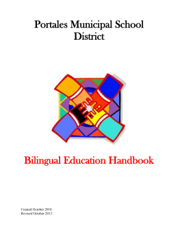 Bilingual Education Handbook
