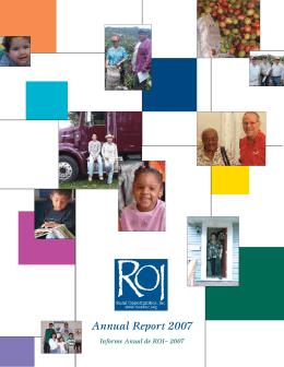 ROI Annual Report