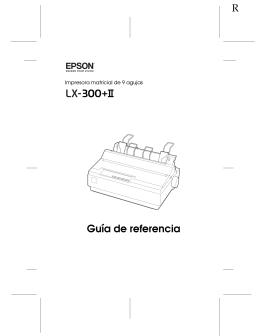 Guía de referencia - Epson America, Inc.
