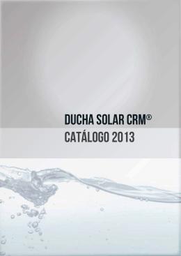 Duchas solares CRM