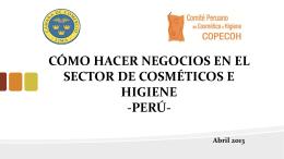 perú - Cosmoprof