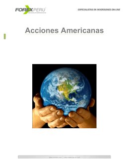 Acciones Norteamericanas