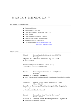 MPC. Marcos Ernesto Mendoza Vélez