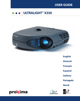 user guide ultralighttm x350
