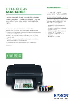 La impresora todo en uno compacta y asequible. Imprimir, escanear