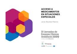 acceso a medicamentos en situaciones especiales