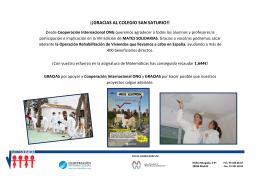 236 participantes - Colegio Cooperativa San Saturio