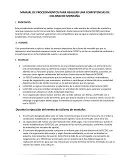 Manual de MTB