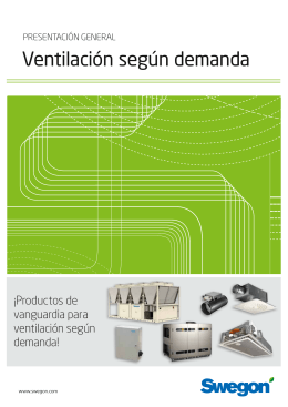 Ventilación según demanda