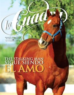 Magazine de las carreras de caballos en Sonora