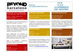 Info PDF - Go Beyond Barcelona