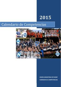 Fixture Nacional de Clubes 2015
