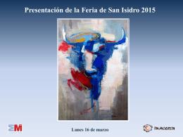 Carteles de San Isidro 2014