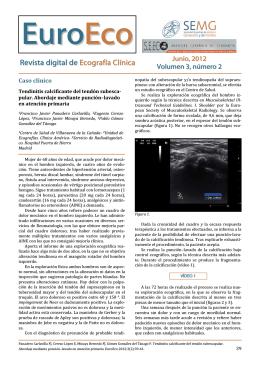 Revista digital de Ecografía Clínica