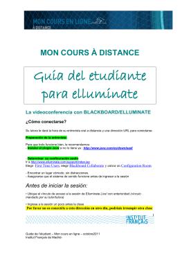 Guide de l`étudiant - la page des profs de l`institut francais de madrid