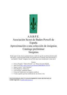 A.S.B.P.E. Asociación Scout de Baden Powell de España