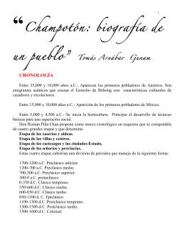 """""""Champotón: biografía de un pueblo"""" Tomás Arnábar Gunam"""