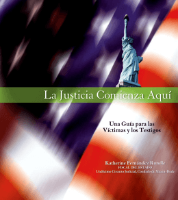 La Justicia Comienza Aquí - Miami Dade Office of the State Attorney