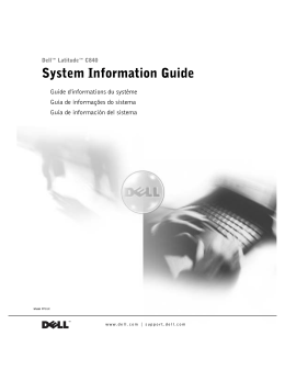 System Information Guide