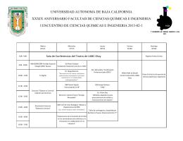 universidad autonoma de baja california xxxix aniversario facultad