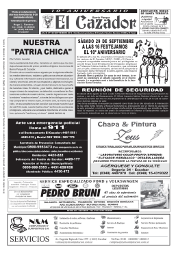 Periódico El Cazador nro. 120