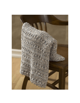 Crochet Textured Throw