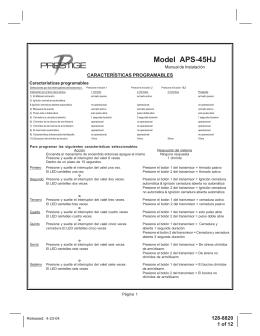 Model APS-45HJ