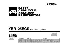 YBR125EGS(43B1)C SOUTH AMERICA