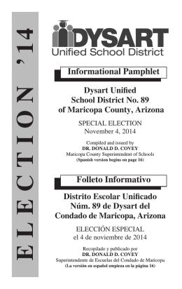 Agua Fria Election 11/06