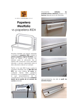 Papelera Westfalia vs papelera IKEA