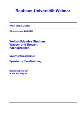 - Bauhaus-Universität Weimar