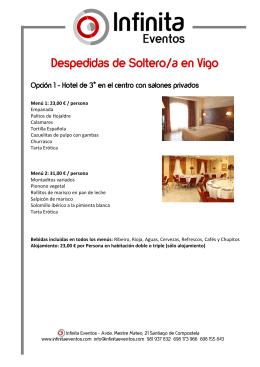 Despedidas de Soltero/a en Vigo