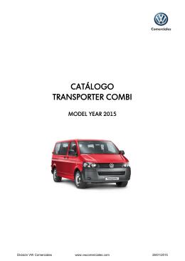 CATÁLOGO TRANSPORTER COMBI