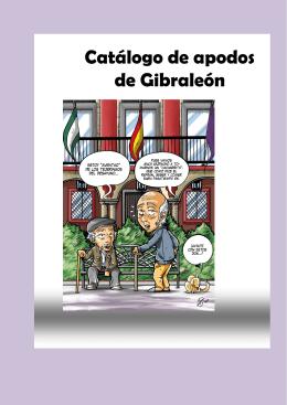 Catálogo de apodos de Gibraleón