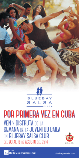 POR PRIMERA VEZ EN CUBA - Bluebay Hotels & Resorts