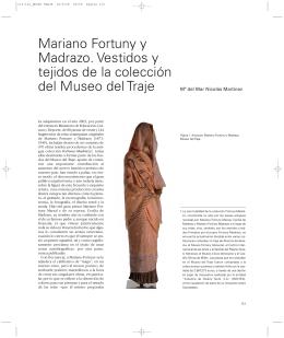 Mariano Fortuny y Madrazo. Vestidos y tejidos de