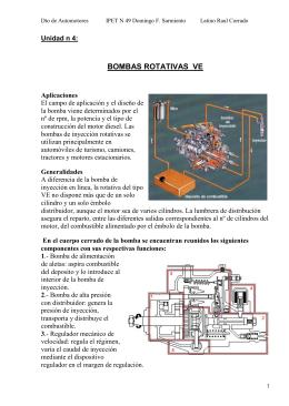 BOMBAS ROTATIVAS VE - Escuela del Trabajo