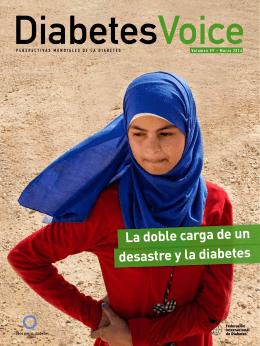 La doble carga de un desastre y la diabetes