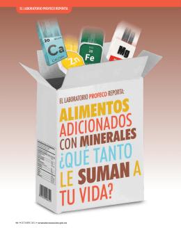 El laboratorio ProfEco rEPorta - Revista del Consumidor en Línea