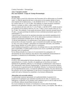 Acne. Conceptos actuales - Sociedad Argentina de Pediatría