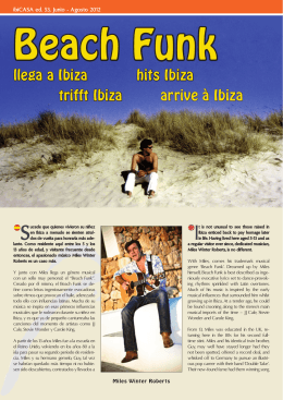llega a Ibiza trifft Ibiza hits Ibiza arrive à Ibiza
