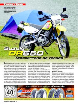 DR 650 / Edición 53 - La Revista De Motos